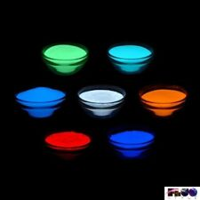 Pigmento additivo polvere luminescente fosforescente si illumina al buio 8 color