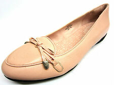 Ladies Rockport Adiprene Pink Leather Shoes with Bow Trim UK 4.5 SK61475