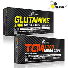 GLUTAMINE + CREATINE MALATE CAPSULES 60-180 Anabolic Muscle Growth Stack Immune