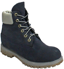 Timberland AF 6 Inch Premium Waterproof Womens Boots Leather Navy 3831R D107