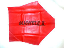 NEW Red Latex Rubber Female High Waisted Pants (ENGLISH) S M L XL