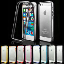 Apple iPhone 5 5s TPU Bumper Silikon Case Schutz Hülle Cover transparent NEW !