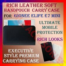 ACM-RICH LEATHER SOFT CARRY CASE for GIONEE ELIFE E7 MINI MOBILE HANDPOUCH COVER
