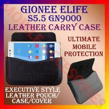 ACM-HORIZONTAL LEATHER CARRY CASE for GIONEE ELIFE S5.5 GN9000 MOBILE COVER CASE