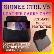 ACM-HORIZONTAL LEATHER CARRY CASE for GIONEE CTRL V5 MOBILE POUCH COVER HOLDER