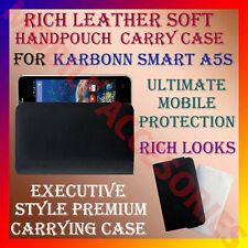 ACM-RICH LEATHER SOFT CARRY CASE for KARBONN SMART A5s MOBILE HANDPOUCH COVER