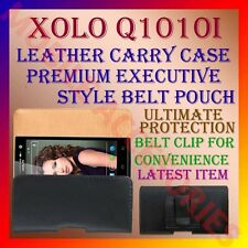 ACM-BELT CASE for XOLO Q1010i MOBILE LEATHER CARRY POUCH COVER CLIP HOLDER NEW