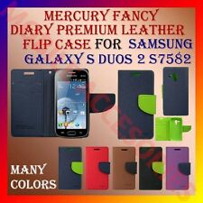 ACM-MERCURY RICH DIARY FLIP CASE for SAMSUNG GALAXY S DUOS 2 S7582 WALLET COVER