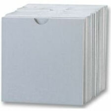 Humlin CD Cardboard Sleeves / Wallet White with thumb cut cover wallet case
