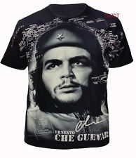 New Che Guevara T Shirt/Biker/Tattoo/Unisex/Front & Back Full Print/Tee M To XXL
