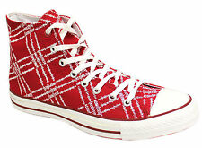 Converse Chuck Taylor All Star Red Edition Hi Top Unisex Trainers 100686 D13