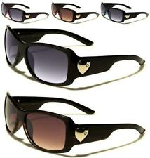 NEW ROMANCE SUNGLASSES BLACK DESIGNER LADIES WOMENS GIRLS WRAP VINTAGE UV400