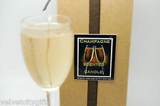 Unusual wedding gift - Champagne Candle looks and smells like Champagne