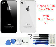 Replacement Back Glass for Apple iPhone 4G 4S Rear Cover Case Housing