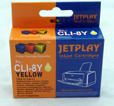 1 Canon CLI-8 YELLOW Chipped Compatible Ink Cartridge - UK SELLER