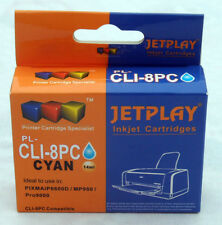 1 Canon CLI-8 PHOTO CYAN Chipped Compatible Ink Cartridge - UK SELLER