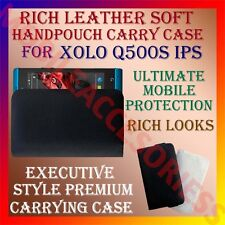 ACM-RICH LEATHER SOFT CARRY CASE for XOLO Q500s IPS MOBILE HANDPOUCH COVER POUCH