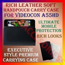 ACM-RICH LEATHER SOFT CARRY CASE for VIDEOCON A55HD MOBILE HANDPOUCH COVER POUCH