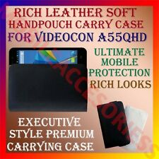 ACM-RICH LEATHER SOFT CARRY CASE for VIDEOCON A55qHD MOBILE HANDPOUCH COVER NEW