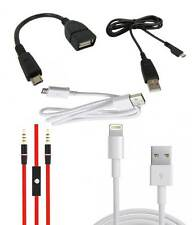 Micro USB Data Cable, Aux Cable, OTG Cable - ANY ONE