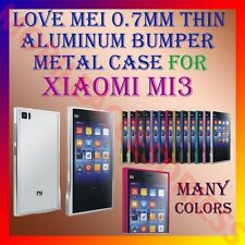 ACM-LOVE MEI 0.7MM THIN ALUMINUM BUMPER METAL CASE for XIAOMI MI3 COVER FRAME