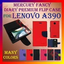 ACM-MERCURY PREMIUM DIARY FLIP FLAP CASE for LENOVO A390 MOBILE WALLET COVER NEW