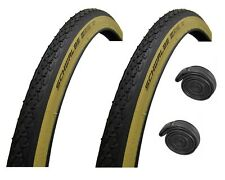 """27"""" x 1-1/4"""" SCHWALBE Active AMBER WALL Puncture Resistant Roadster Bike Tyre"""
