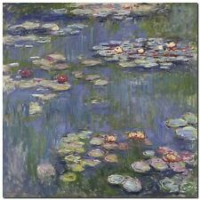 Quadro Claude Monet 'Water Lilies '  Stampa su Tela Canvas