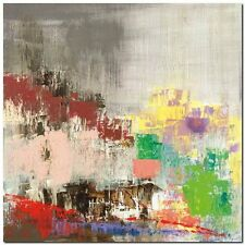 Quadro Italo Corrado 'Colored City'  Stampa su Tela Canvas