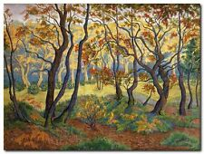 Quadro Paul Ranson 'The Clearing' Stampa su Tela Canvas