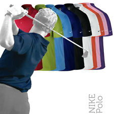 NIKE NK215 Mens Dri-Fit Lightweight Golf Polo Shirt (6 Cols)