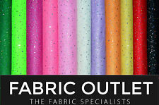 SPARKLY IRIDESCENT HOLOGRAM SEQUIN TUTU FANCY DRESS NET DANCE CRAFT FABRIC