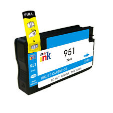 Chipped For HP 951XL Cyan Printer Ink Cartridge