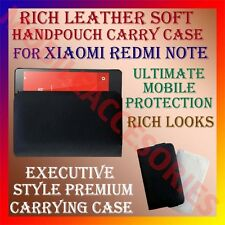 ACM-RICH LEATHER SOFT CARRY CASE for XIAOMI REDMI NOTE MOBILE HANDPOUCH COVER