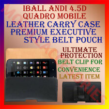 ACM-BELT CASE for IBALL ANDI 4.5D QUADRO MOBILE LEATHER POUCH COVER CLIP HOLDER