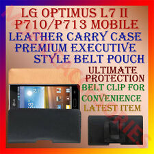 ACM-BELT CASE for LG OPTIMUS L7 II P710/P713 MOBILE LEATHER POUCH COVER HOLDER