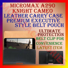 ACM-BELT CASE for MICROMAX A290 KNIGHT CAMEO MOBILE LEATHER POUCH COVER HOLDER