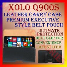 ACM-BELT CASE for XOLO Q900S MOBILE LEATHER POUCH CARRY COVER CLIP HOLDER LATEST