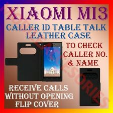 ACM-CALLER ID TABLE TALK CASE for XIAOMI MI3 MOBILE FLIP FRONT & BACK COVER NEW