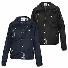 Mens Soul Star Designer Windbreaker Double Zip Up Coat Light Weight Jacket