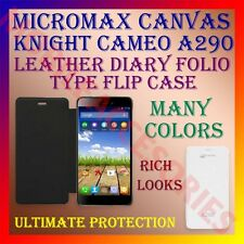 ACM-LEATHER DIARY FOLIO FLIP CASE for MICROMAX CANVAS KNIGHT CAMEO A290 COVER