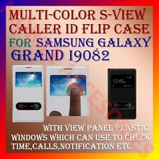 ACM-S-VIEW SMART INTERACTIVE LEATHER FLIP CASE for SAMSUNG GALAXY GRAND I9082
