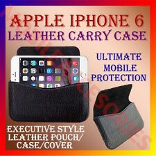 ACM-HORIZONTAL LEATHER CARRY CASE for APPLE IPHONE 6 MOBILE POUCH HOLDER COVER