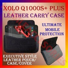 ACM-HORIZONTAL LEATHER CARRY CASE for XOLO Q1000S+ PLUS MOBILE RICH POUCH COVER