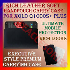 ACM-RICH LEATHER SOFT CARRY CASE for XOLO Q1000S+ PLUS HANDPOUCH HOLDER COVER