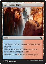 4x Rupi di Rapidacque - Swiftwater Cliffs MTG MAGIC KTK Khans of Tarkir Eng/Ita