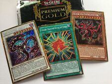 "Yu-Gi-Oh! Premium Gold PGLD-DE Gold Secret Rare Karten ""zur Auswahl - to choose"""