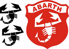 KIT ABARTH - PEGATINAS - STICKERS - VINILO - PACK- AUFKLEBER - VINYL - TUNNING