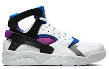 2014 Exclusive Nike Air Flight HuaracheOG QS White/Black/Lyon Blue/Bold Berry