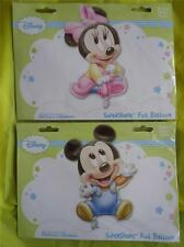 MINNIE MOUSE or MICKEY DISNEY BABIES - FOIL HELIUM BALLOON - GIANT SUPERSHAPE